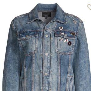 57a2d82a3a60 Hudson Jeans Jackets & Coats | Hudson Denim Jacket With Pins Nwot ...